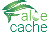 Aloe Cache Logo Stacked