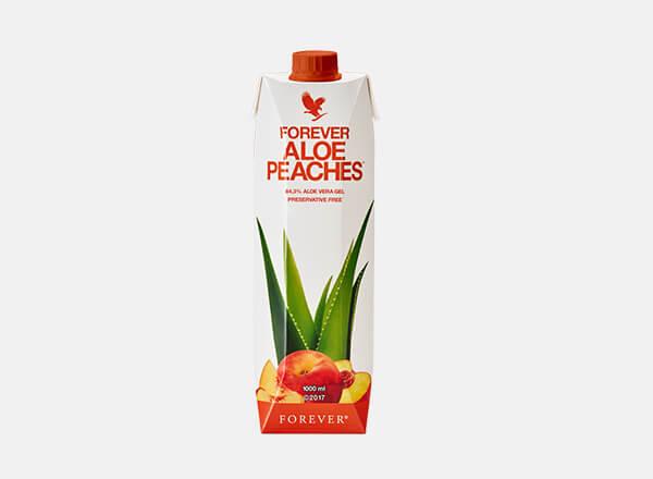 Forever Aloe Peaches Gel Aloe Cache