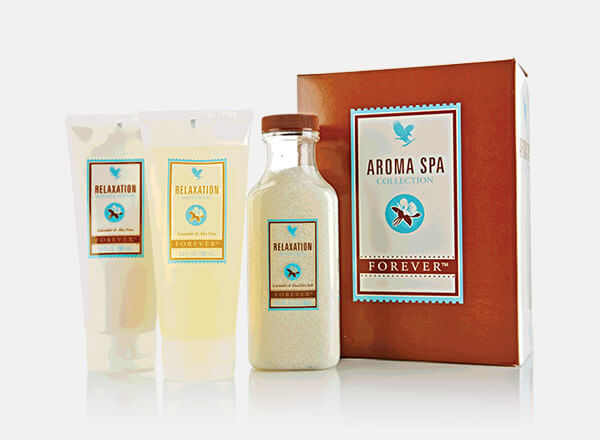 Forever Living Personal Care Forever Aroma Spa Collection