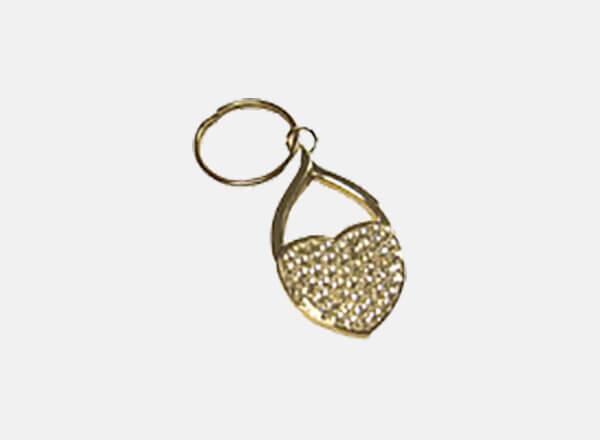 Forever Living Jeweled Heart Key Ring
