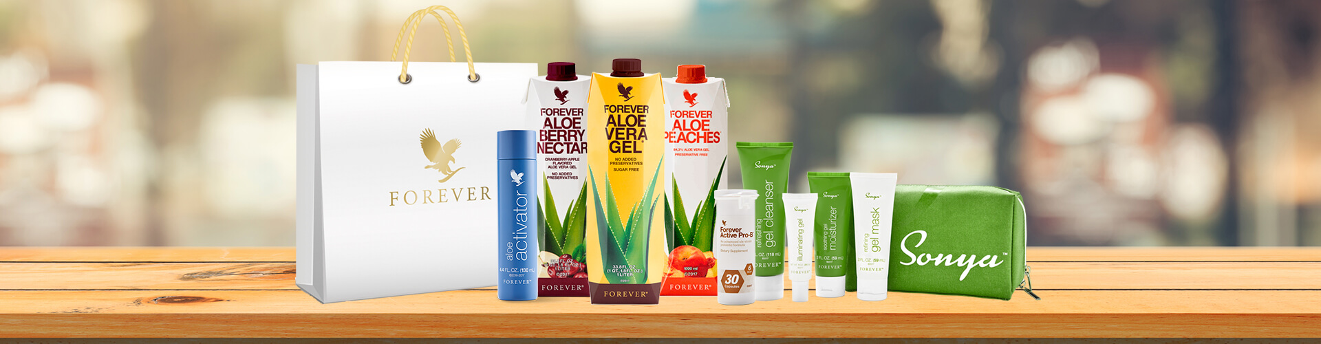 Forever Living New Products - Aloe Cache
